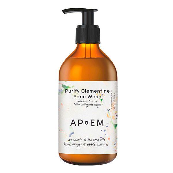 APOEM PURIFY CLEMENTINE FACE  WASH (LIMPIADOR FACIAL DETOXIFICANTE)