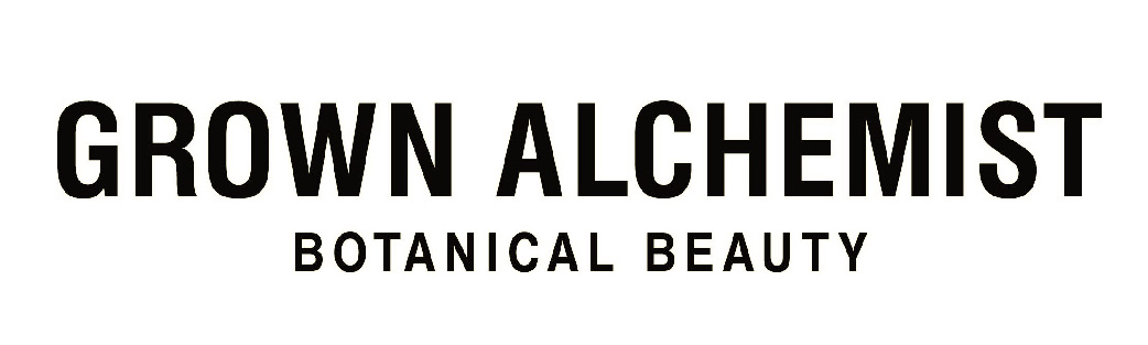 Logo Grown Alchemist Botanical Beauty