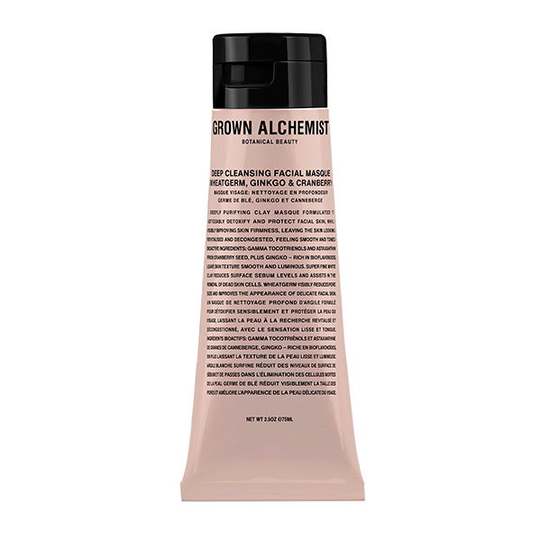 GROWN ALCHEMIST DEEP CLEANSING FACIAL MASQUE (MASCARILLA FACIAL PURIFICANTE)
