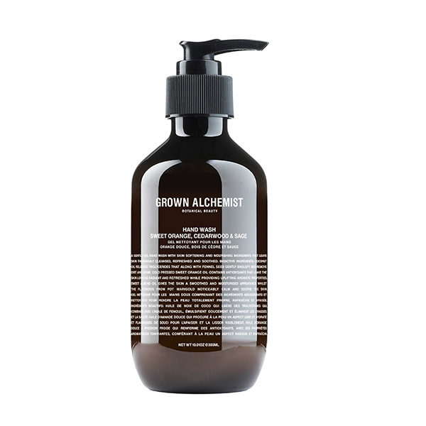 GROWN ALCHEMIST HAND WASH SWEET ORANGE, CEDARWOOD & SAGE  (JABÓN DE MANOS)