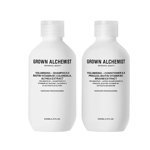 GROWN ALCHEMIST PACK VOLUMISING SHAMPOO + CONDITIONER 0.4 (PACK VOLUMEN)