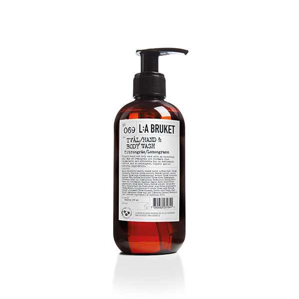 L:A BRUKET N.º 069 HAND & BODY WASH LEMONGRASS (GEL DE DUCHA)
