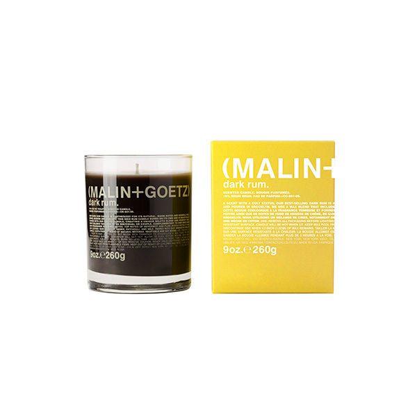 MALIN + GOETZ DARK RUM CANDLE (VELA DE RON)