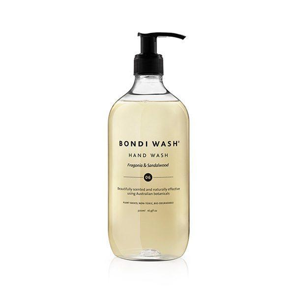BONDI WASH HAND WASH - FRAGONIA & SANDALWOOD (JABÓN DE MANOS)
