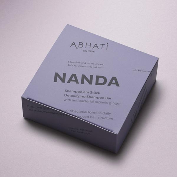 ABHATI SUISSE NANDA DETOXIFYING SHAMPOO BAR